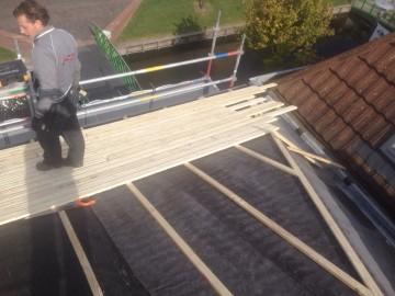 houten ventilerende constructie